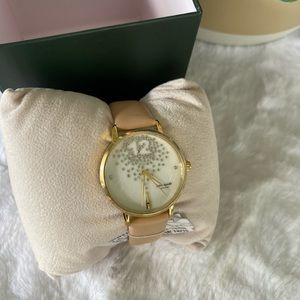 Kate spade ♠️ leather strap watch